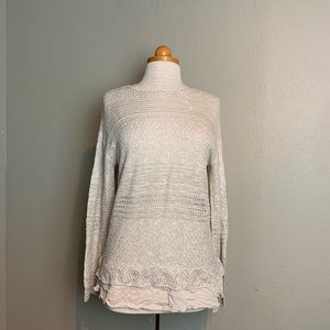 Knox rose sweater medium uu13